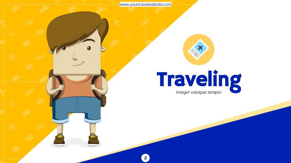 travel google slides theme & powerpoint template • slidesgala, Powerpoint templates
